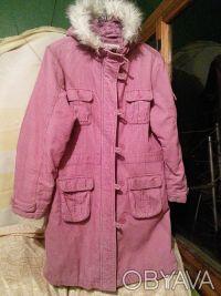 Тёплое пальто до 152 см. Харьков. фото 1