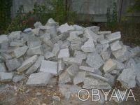 Камень бутовый используется для строительства фундаментов, заборов, цоколей и ук. Коростышев, Житомирская область. фото 6