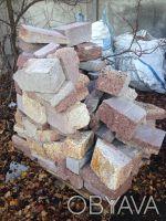 Камень бутовый используется для строительства фундаментов, заборов, цоколей и ук. Коростышев, Житомирская область. фото 4