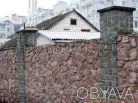 Камень бутовый используется для строительства фундаментов, заборов, цоколей и ук. Коростышев, Житомирская область. фото 2