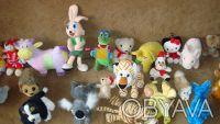 Продам мягкие игрушки в ассортименте, размер 12-30 см, в хорошем состоянии, цена. Харьков, Харьковская область. фото 7