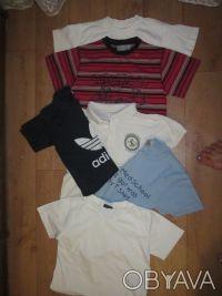 футболки на мальчика 5-8 лет в хорошем состоянии. Длина по спинке - от 43 см.  . Харьков, Харьковская область. фото 3