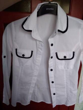 Школьные нарядные рубашки для девочки. Київ. фото 1