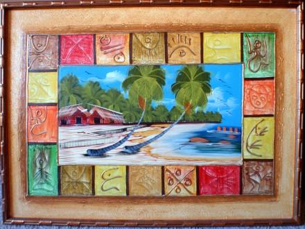 Продам картину Карибы. Киев. фото 1