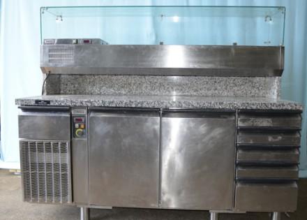 Холодильный стол б/у,  для пиццы Electrolux ZBRAV 705.. Киев. фото 1