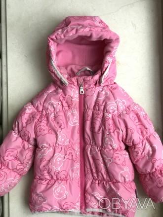 Куртка демисезонная с утеплителем  на девочку ( размер 80 см). Температурный реж. Чернигов, Черниговская область. фото 1