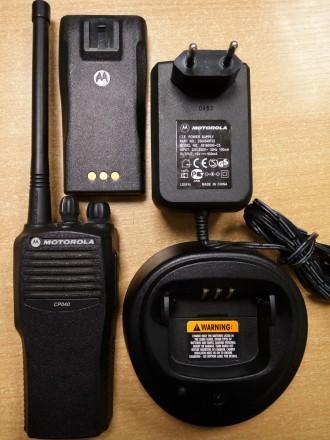 Рация портативная носимая Motorola CP 040. Киев. фото 1