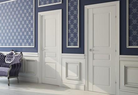 Шпоновані міжкімнатні двері. Черновцы. фото 1
