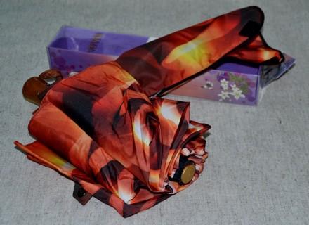 Продам новый зонт полуавтомат , 10 спиц , антиветер , в упаковке. Киев. фото 1