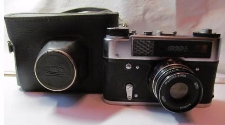 Фотоапарат Фэд5 со встроенным экспонометром. Мариуполь. фото 1