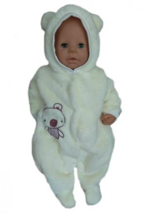 Комбинезон теплый для новорожденных Медвеженок. Днепр. фото 1