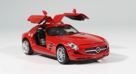 Mercedes-Benz SLS AMG. Коллекционная модель. 1:32. Днепр. фото 1