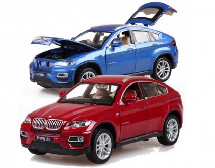 BMW X6. Коллекционная модель автомобиля. 1:32. Днепр. фото 1