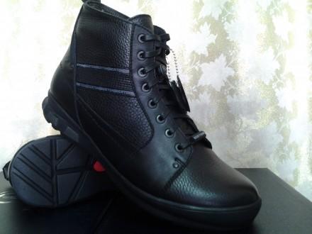 Зимние мужские ботинки под кроссовки Bertoni Распродажа. Одесса. фото 1