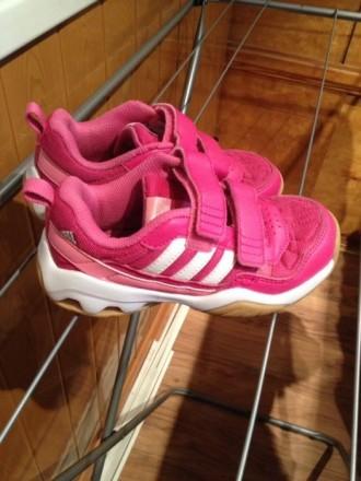 Кроссовки Adidas кеды Адидас оригинал яркие фуксия. Мариуполь. фото 1