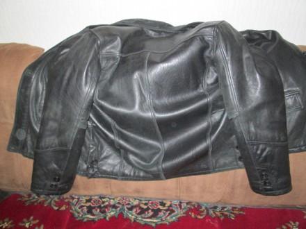 Кожаная утепленная куртка. Кропивницкий. фото 1