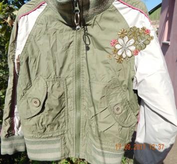 Курточка ветровка на девочку. Никополь. фото 1