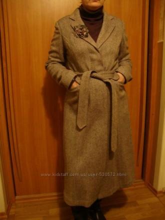 Пальто новое NEXT с брошью.. Мариуполь. фото 1