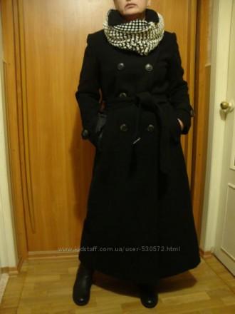 Пальто черное шерсть классика.. Мариуполь. фото 1