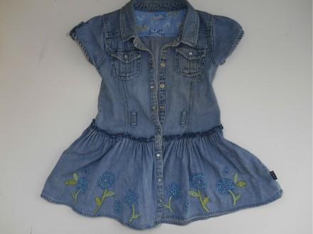 Платье джинсовое на 3 года. Мариуполь. фото 1