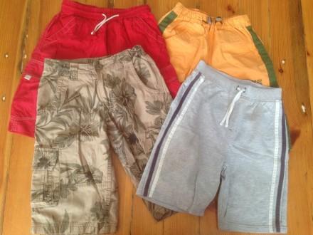 Пакет детских вещей из 5 шт. шорты бриджи на 8-10 лет. Киев. фото 1