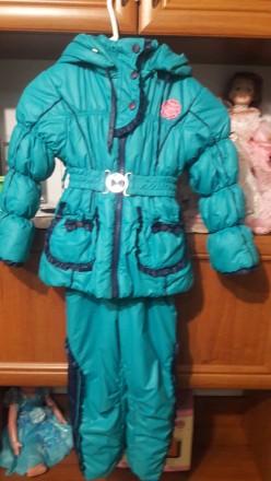 Комплект Комбинезон и куртка. Широкое. фото 1
