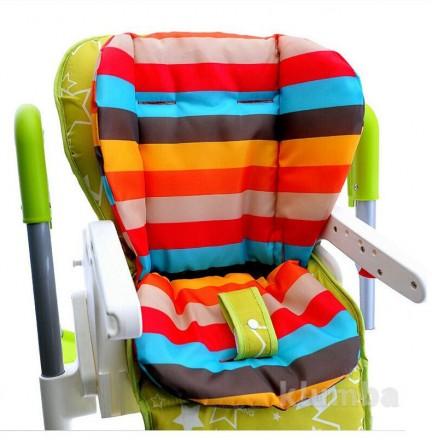 Вкладыш-матрасик с прорезями под ремни безопасности в стульчик для кормления, пр. Ровно, Ровненская область. фото 5
