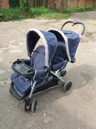 Двохмісна коляска для 2 дітей. Львов. фото 1