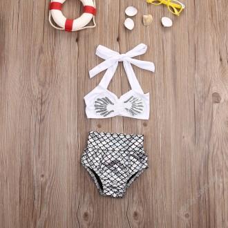 Купальник для маленьких девочек Кэйти (детский) фото 3-5 Ткань: полиэстер, спан. Кременчуг, Полтавская область. фото 5