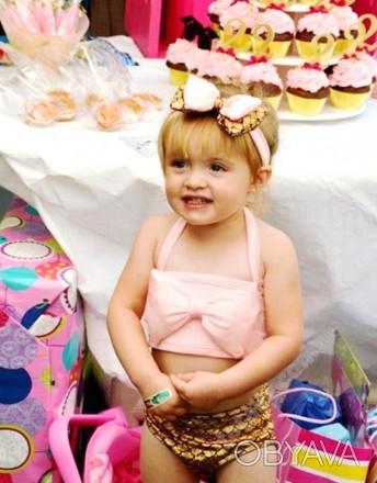 Купальник для маленьких девочек Кэйти (детский) фото 3-5 Ткань: полиэстер, спан. Кременчуг, Полтавская область. фото 1