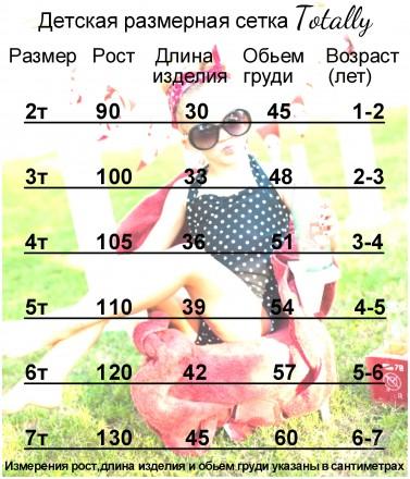 Купальник Дейзи - для маленьких модниц  Тип: детский, раздельный Бретели: хал. Кременчуг, Полтавская область. фото 8
