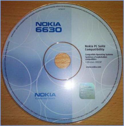Установочное CD с драйверами для Nokia 6630. Киев. фото 1