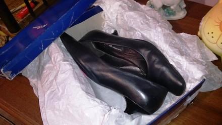 Туфли дамские (женские) из натуральной кожи. Запорожье. фото 1
