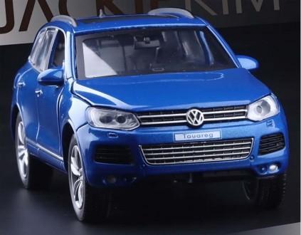 Volkswagen Touareg. Коллекционная модель автомобиля. 1:32. Днепр. фото 1