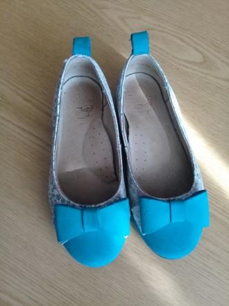 Туфельки на девочку с ортопедической стелькой,28 р.. Жмеринка. фото 1