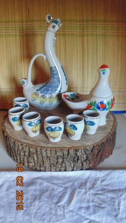 Фарфоровый набор для напитков.. Маріуполь. фото 1
