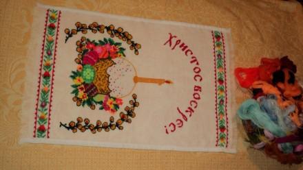 Вышивка крестиком Пасха. Чернигов. фото 1