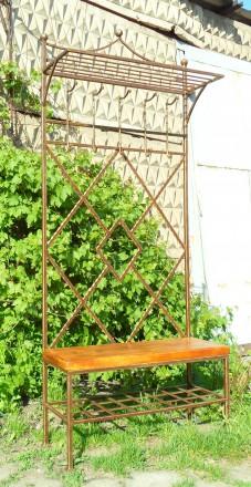 Настенные и пристенные кованые вешалка. Киево-Святошинский. фото 1