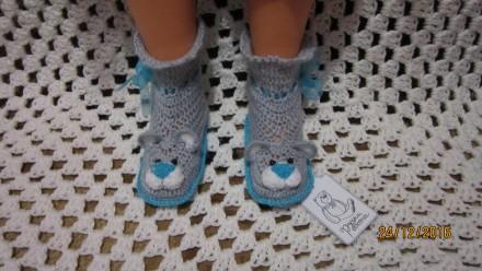 Пінетки, ботіночки, туфельки вязані. Ровно. фото 1