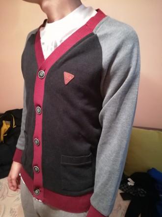 Модный кардиган для подростка. Ужгород. фото 1