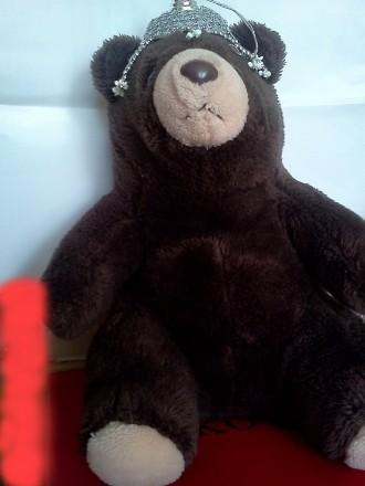 Мишка, медвеженок , сидит. Длина 34 см.. Ужгород, Закарпатская область. фото 3