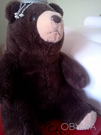 Мишка, медвеженок , сидит. Длина 34 см.. Ужгород, Закарпатская область. фото 1