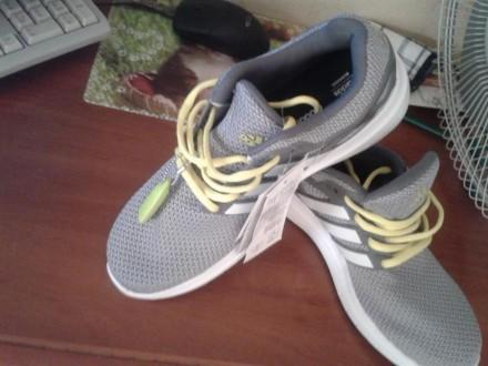 Продам новые мужские кроссовки adidas (оригинал),размер 41.5,для лета,дышащие.Це. Житомир, Житомирская область. фото 4