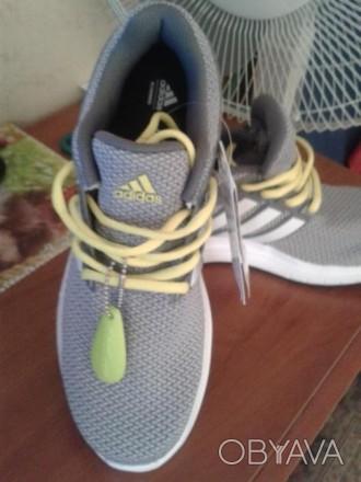 Продам новые мужские кроссовки adidas (оригинал),размер 41.5,для лета,дышащие.Це. Житомир, Житомирская область. фото 1