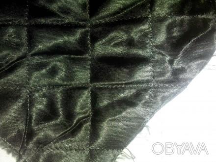 Продается   стеганная (прошитая) подкладка: - на синтепоне   цвет черный и кори. Чернигов, Черниговская область. фото 1