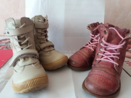 Продам демисезонные ботинки на девочку (23 размер 15,5 см стелька). Запорожье. фото 1