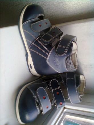 продам ортопедические туфли почти неношеные. Киев. фото 1