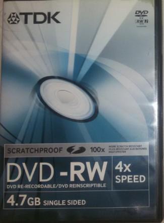 Продам не дорого чистый SCRATCHPROOF (нецарапающийся) фирменный (DVD-RW) ,,TDK