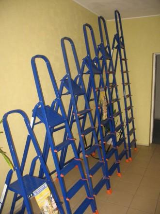 Всегда в продаже надежная продукция для быта : лестницы-стремянки. Харьков. фото 1