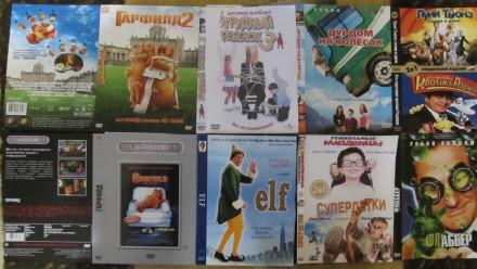 Детские фильмы на DVD(б/у, отл. сост., коробка, цв. полиграфия, хор. качество за. Сумы, Сумская область. фото 4
